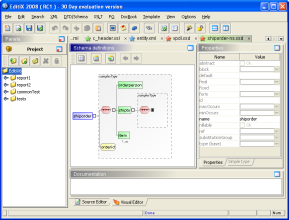 EditiX (for Windows / Java VM) screenshot